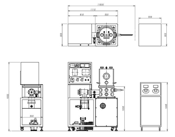 SEV-100外観図